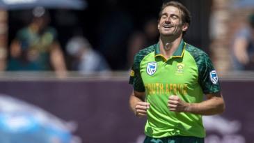 Daryn Dupavillon claimed his maiden ODI wicket