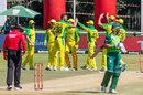Quinton de Kock fell to Josh Hazlewood, Australia v South Africa, 3rd ODI, Potchefstroom, March 7, 2020