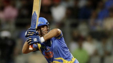 Sachin Tendulkar whips one away
