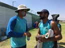 Ranadeb Bose and Akash Deep have a chat