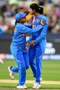 Radha Yadav broke the first-wicket stand, Australia v India, final, Women's T20 World Cup, Melbourne, March 8, 2020
