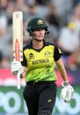 Beth Mooney batted through the Australia innings, Australia v India, final, Women's T20 World Cup, Melbourne, March 8, 2020