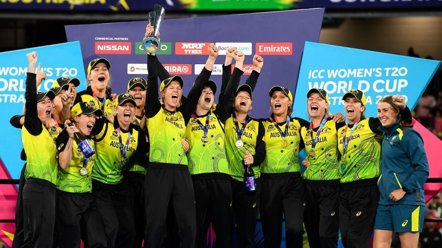 Australia - T20 world champions for the fifth time