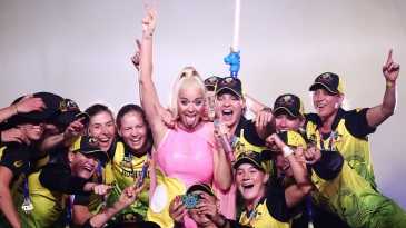 Katy Perry joins the Australian celebrations