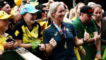 Beth Mooney's 78 not out at the MCG was the highest score in a Women's T20 World Cup final