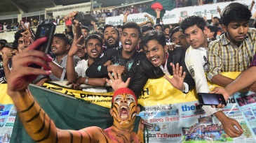The Shere Bangla Stadium is usually filled with fanatical Bangladesh supporters