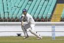 Arpit Vasavada guides the ball fine, Saurashtra v Bengal, Ranji Trophy 2019-20 final, Rajkot, March 9, 2020