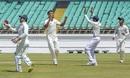 Akash Deep celebrates after yet another wicket, Saurashtra v Bengal, Ranji Trophy 2019-20 final, Rajkot, March 9, 2020