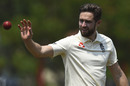 Chris Woakes during the second day of a three-day practice match between a Sri Lanka Cricket XI and England, Katunayake, March 8, 2020