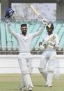 Arpit Vasavada led Saurashtra's batting charge with a patient century, Saurashtra v Bengal, final, Ranji Trophy 2019-20, 2nd day, Rajkot, March 10, 2020