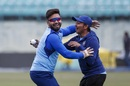 Rishabh Pant and Prithvi Shaw find a reason to smile at training, Dharamsala, March 11, 2020