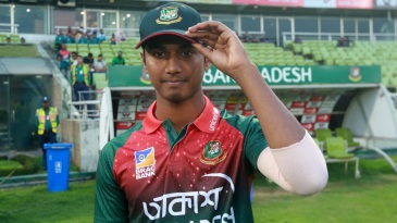 Hasan Mahmud gets his maiden T20I cap