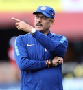 Ravi Shastri makes a point, India v South Africa, 1st ODI, Dharamsala, March 12, 2020