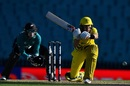 Marnus Labuschagne employs the sweep, Australia v New Zealand, 1st ODI, Sydney, March 13, 2020