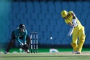 Marnus Labuschagne goes inside out against spin, Australia v New Zealand, 1st ODI, Sydney, March 13, 2020