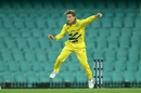 Adam Zampa bowls, Australia v New Zealand, 1st ODI, Sydney, March 13, 2020