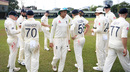 Joe Root addresses his players, SLC Board President's XI v England, Day 2, Colombo, March 13, 2020