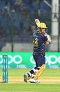 Khurram Manzoor slashes through backward point, Karachi Kings v Quetta Gladiators, PSL 2020, Karachi, March 15, 2020