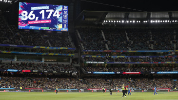 The crowd at the MCG for the Women's T20 World Cup final broke the record for the most number of people attending a women's sporting event in Australia
