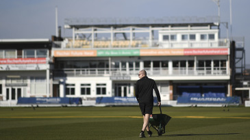 County groundsmen will have plenty of time to prepare their pitches for the summer