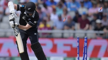 Colin Munro (in photo) and Martin Guptill were the second pair of openers to be out for ducks in the 2019 World Cup; Afghanistan's openers bagged theirs in the fourth match of the tournament