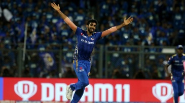 If you're under the pump as a fielding T20 captain, just throw the ball to Jasprit Bumrah