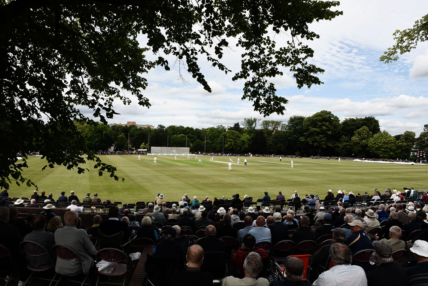 Queen's Park: some cricket, a picnic, and possibly a nap in the shade?