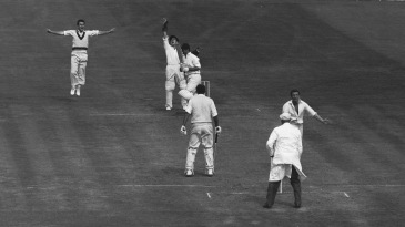 Australia captain Benaud dismissed his England counterpart Ted Dexter five times in Tests, all during the 1962-63 Ashes