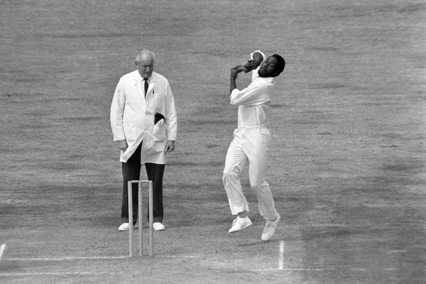 Why didn't everyone smash Richards far and wide when he was bowling? Mainly because it was Viv Richards