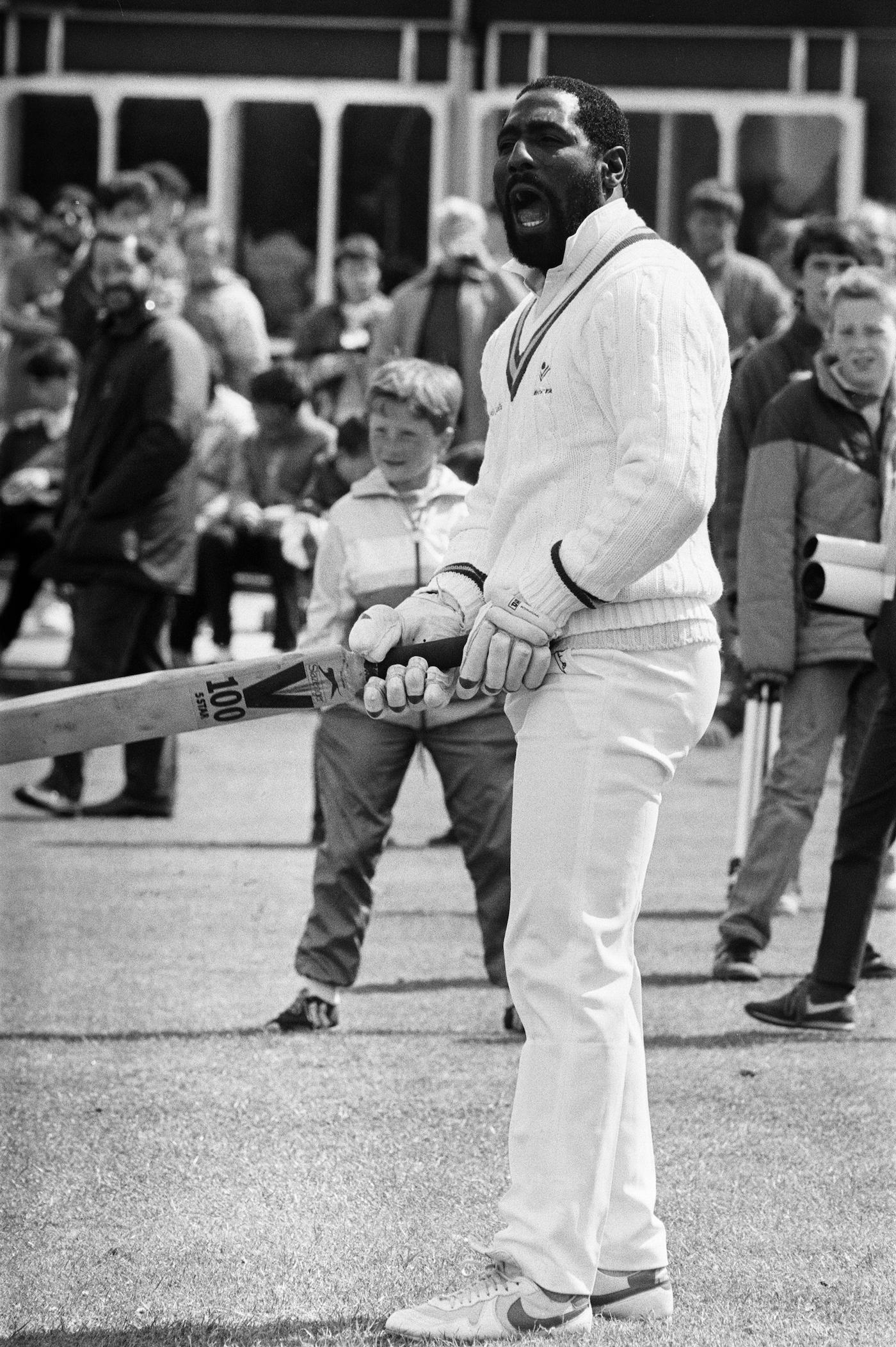 Richards terrorised bowlers, fielders and onlookers alike