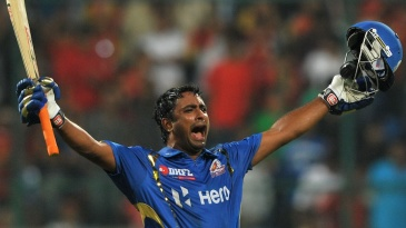 As a vital part of Mumbai Indians' middle order in the early 2010s, Ambati Rayudu was part of some thrilling chases