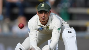 Cricket South Africa doesn't want to put too much on Quinton de Kock's plate