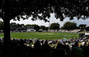 A general view of Seddon Park, New Zealand v England, 2nd Test, Hamilton, November 30, 2019