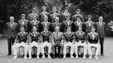 By 1972, Chappell was captain and enjoyed a single room, so Watson (back row, extreme left) had to make do with second best