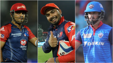 Delhi Capitals collage