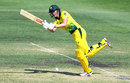 Tahlia McGrath whips through the leg side during her 97 against India A, Australia A v India, 1st one-dayer, Allan Border Field, December 12, 2019