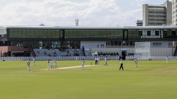 A view across the redeveloped Junction Oval in Melbourne