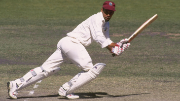 Jimmy Adams scored 520 runs at 173.33 during the Test series against India in 1994-95