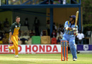 Sachin Tendulkar hooks Glenn McGrath, India v Australia, ICC Knockout 2000