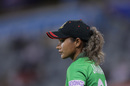 Jahanara Alam looks on, sixth match, India v Bangladesh, Women's T20 World Cup, WACA, Perth Australia, February 24, 2020