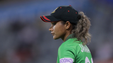 Jahanara Alam is missing out on family time after self-isolating on her return from the Women's T20 World Cup