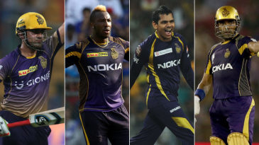 Gambhir, Russell, Narine, Uthappa - the contenders for KKR's all-time XI