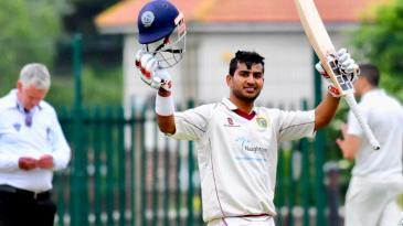 His time playing club cricket in the UK helped Singh get better at power-hitting and building up his physical strength