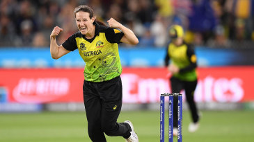 Megan Schutt was the leading wicket-taker at the T20 World Cup