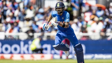 Would Virat Kohli's running make him the man for a steep chase against a tough bowling attack?
