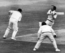 Brian Bolus bats, Middlesex v Nottinghamshire, County Championship, Lord's, May 24, 1972