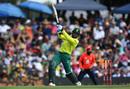 Andile Phehlukwayo slices one, South Africa v England, 3rd T20I, SuperSport Park, Centurion, South Africa, Feb 16, 2020