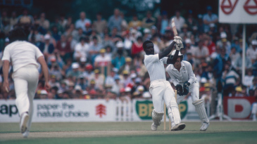Collis King on his way to a match-winning 60 in one of the ODIs on the first rebel tour