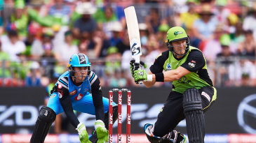 Shane Watson retired from the Big Bash but has continued to play overseas