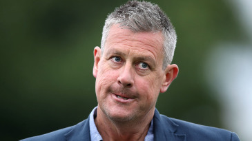Ashley Giles has been England men's managing director since January 2019